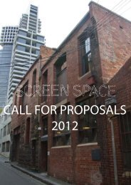 CALL FOR PROPOSALS 2012