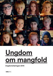 Ungdom om mangfold