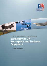 Directory of UK Aerospace and Defense Suppliers