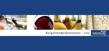 Burgenlandpräsentation - Linz