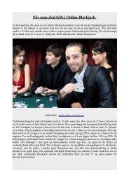 Når man skal fylle i Online Blackjack.pdf