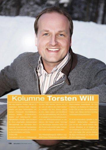 Kolumne Torsten Will