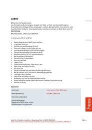 Produktinformationen - Hess AG