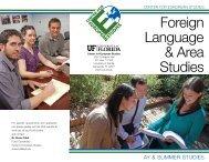 Foreign Language & Area Studies