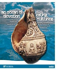An Ocean of Devotion Eating Cultures
