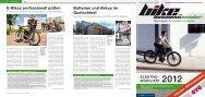 E-Bikes professionell prüfen Batterien und Akkus im Quetschtest - GTÜ
