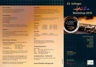 23. Solinger Workshop 2010 - Drums & Percussion