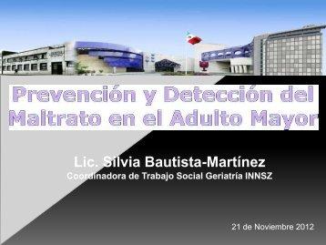 Lic Silvia Bautista-Martínez