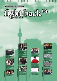 Fight Back 04 (Mai 2009) - Nazis auf die Pelle rücken