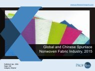 Global and Chinese Spunlace Nonwoven Fabric Industry, 2015.pdf