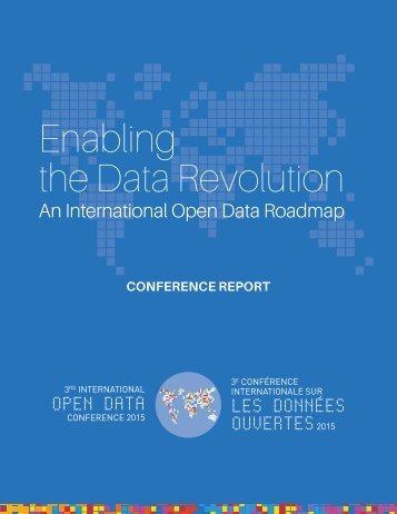 Enabling the Data Revolution