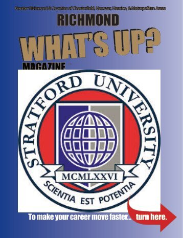 Stratford University - 2015 Summer Issue Richmond
