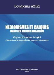 NEOLOGISMES ET CALQUES