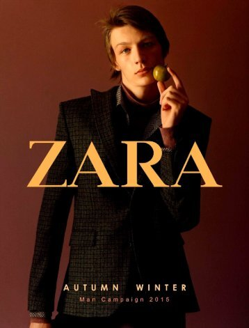 ZARA lookbook Man AW15