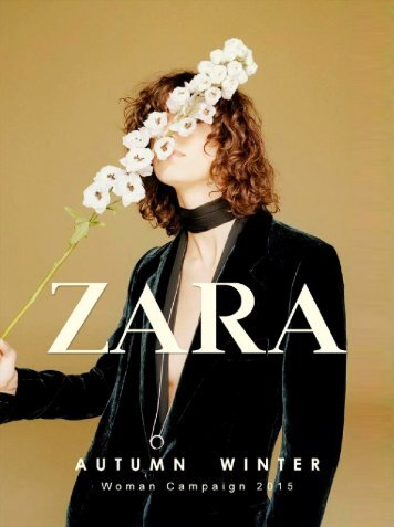 ZARA lookbook Frau AW15