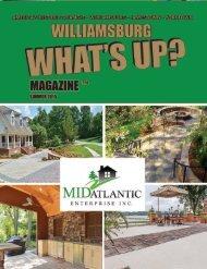 Mid-Atlantic -   2015 Summer Issue Williamsburg