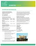 EXHIBITOR MANUAL - Page 4