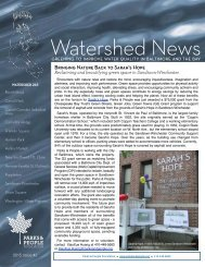 Watershed News