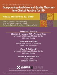 Incorporating Guidelines and Quality Measures Into Clinical Practice for IBD