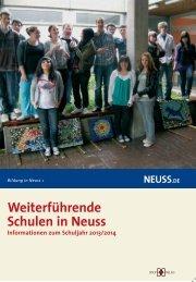 weiterführenden Schulen in Neuss - Neuss am Rhein