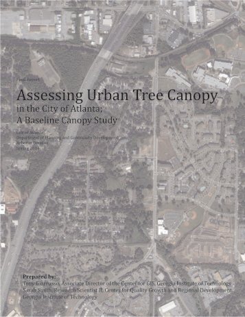 Assessing Urban Tree Canopy