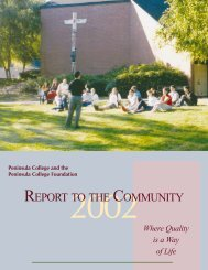 Report to Community 2002 - pcinet - Ctc.edu