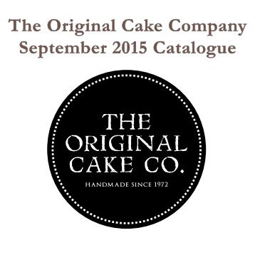 September 2015 Catalogue