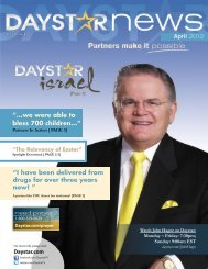 Download April 2012 Newsletter - Daystar Television Network