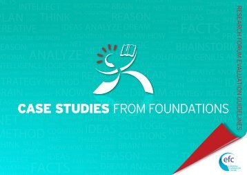 CASE STUDIES FRom Foundations - The European Foundation ...