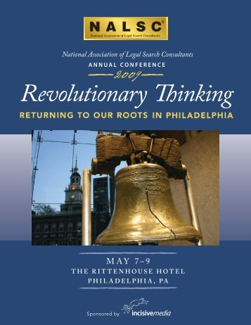 2009 Annual Conference - National Association of Legal Search ...