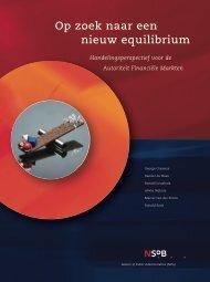 Op zoek naar een nieuw equilibrium