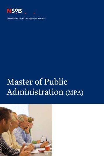 management and public administration Public administration to public management has been the invention of the term  new public management (npm) starting with hood (1991), the main use of.