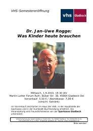 Dr. Jan-Uwe Rogge: Was Kinder heute brauchen - Sparkasse ...