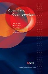 Open data Open gevolgen