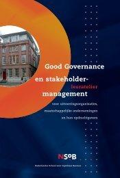 Good Governance en stakeholder- management