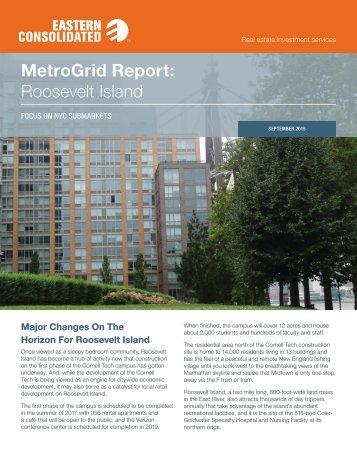 MetroGrid Report Roosevelt Island
