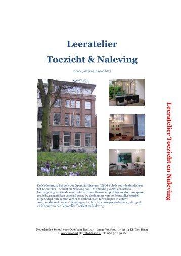 Download hier de brochure als PDF - School voor Openbaar Bestuur