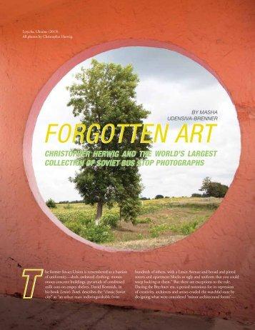 Forgotten Art
