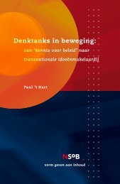 Denktanks in beweging