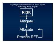 RISK Mitigate Allocate Provide RFP