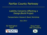 Fairfax County Parkway