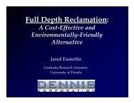 Full Depth Reclamation