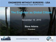 The Engineer as Global Citizen