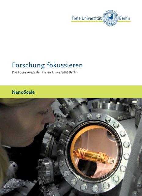 FU Focus Area Nanoscale DE.indd - Freie Universität Berlin