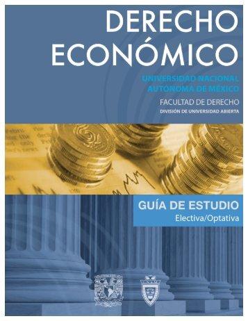 Derecho Económico - Facultad de Derecho