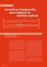 Iniciativas Comparadas para mejorar la Gestión Judicial - Revista ...