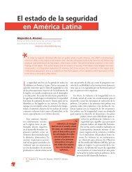El estado de la seguridad en América Latina