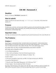 csci 303 homework 2