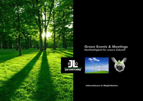 Green Events & Meetings - JeLo Event GmbH
