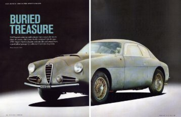 BURIED - Alfa Romeo 1900 Companion